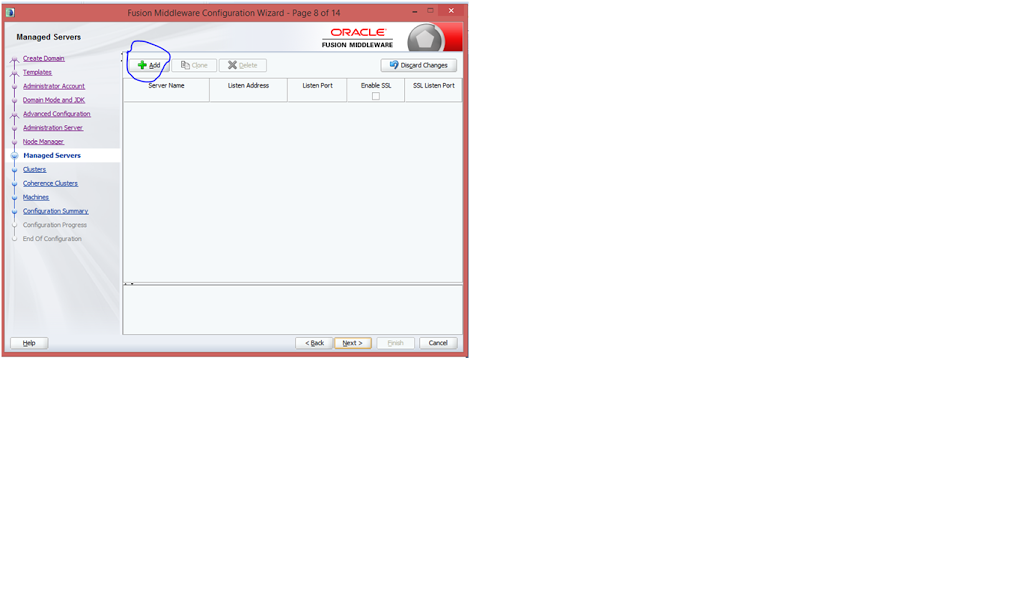 how to create managed server in weblogic 12c